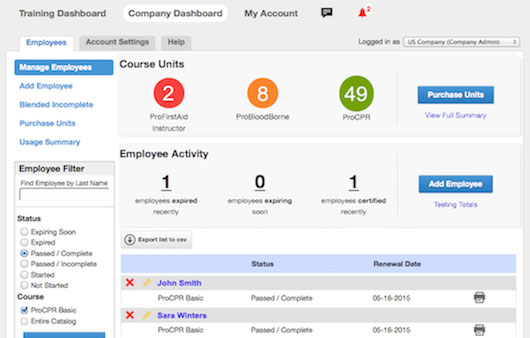 Track employees with admin dashboard