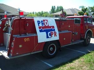 ProCPR Firetruck